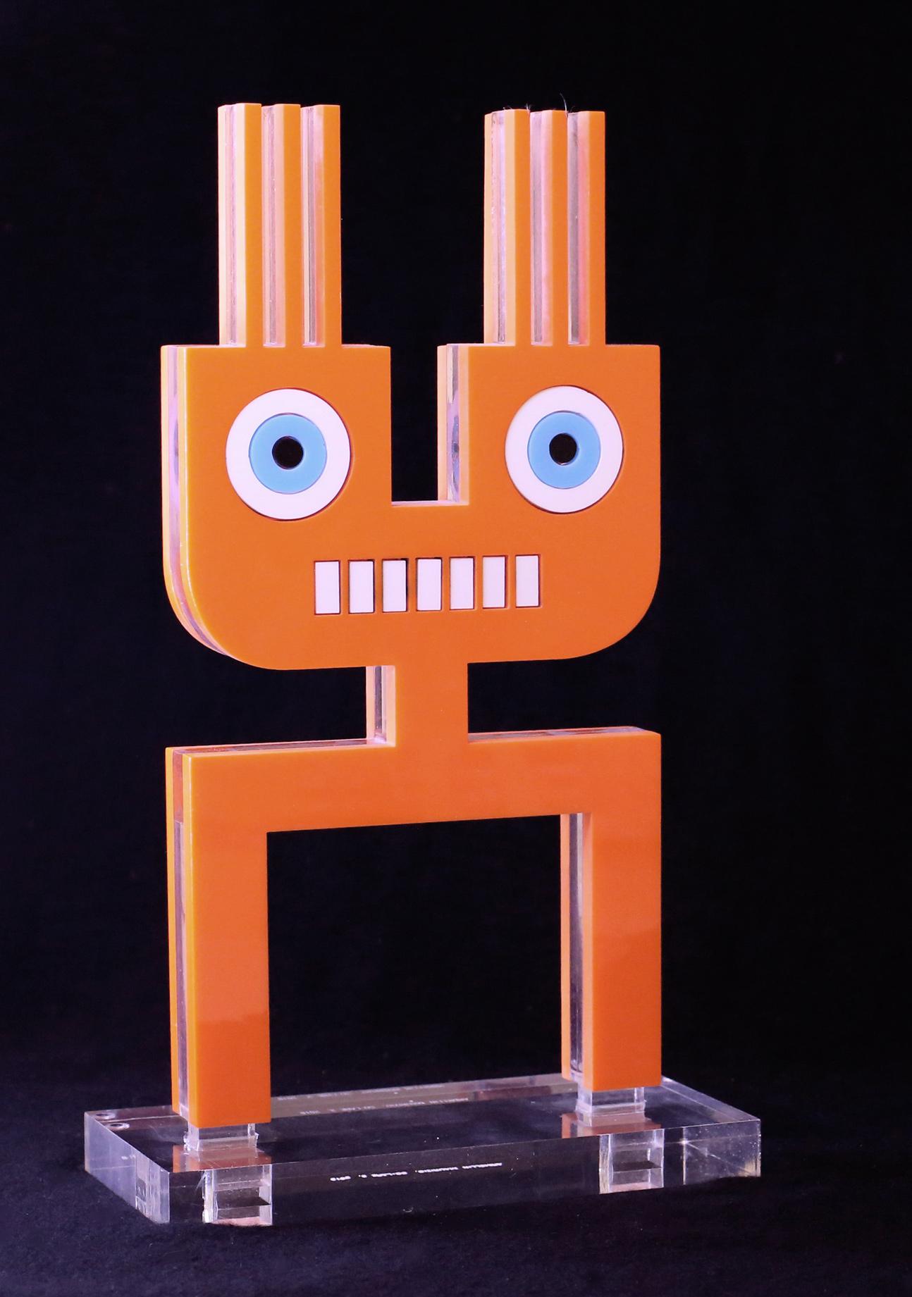 Maurizio Armellin, Spinottino, plexiglass, 21x39x9 cm, edition of 6