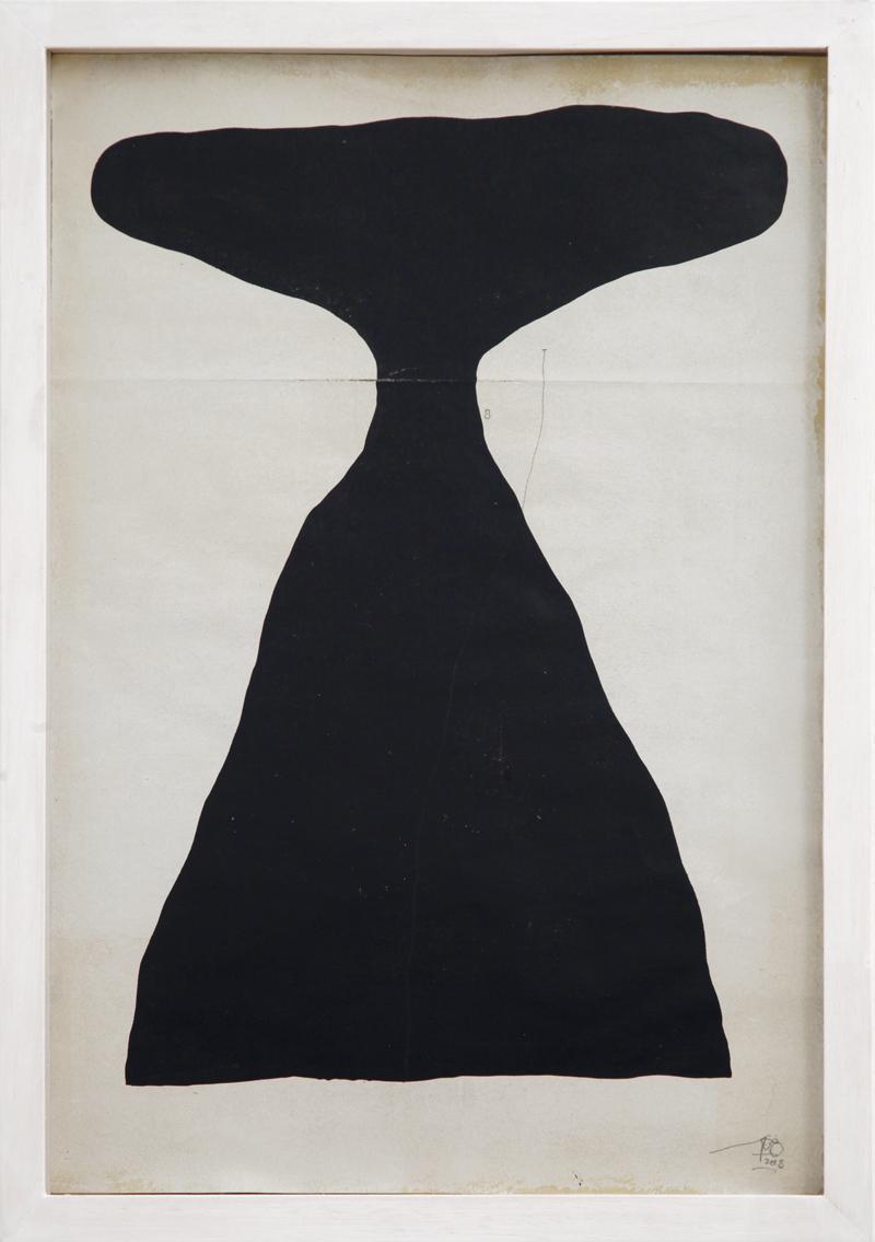 108, Razionale Irrazionale, 2019, ink on paper, 49×34 cm