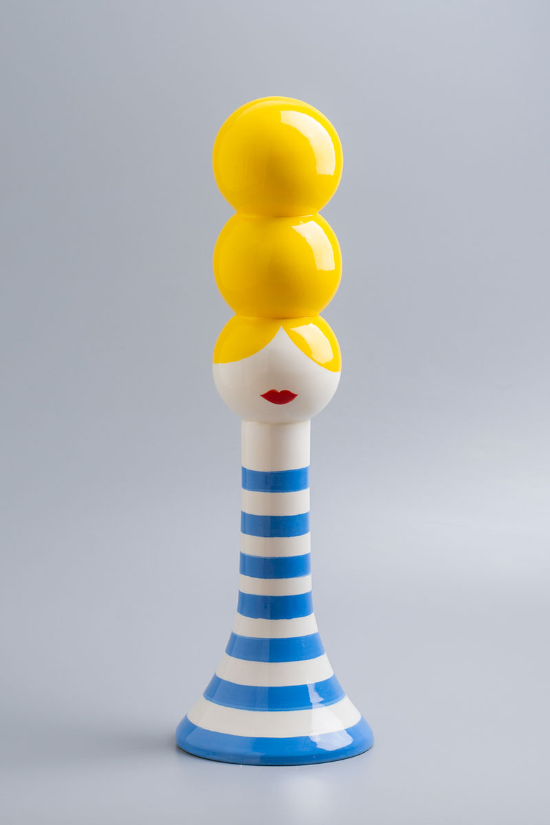 Olimpia-Zagnoli,-Silvietta,-2019,-handmade-ceramic,-limited-edition-of-5,–48,5x15x15-cm