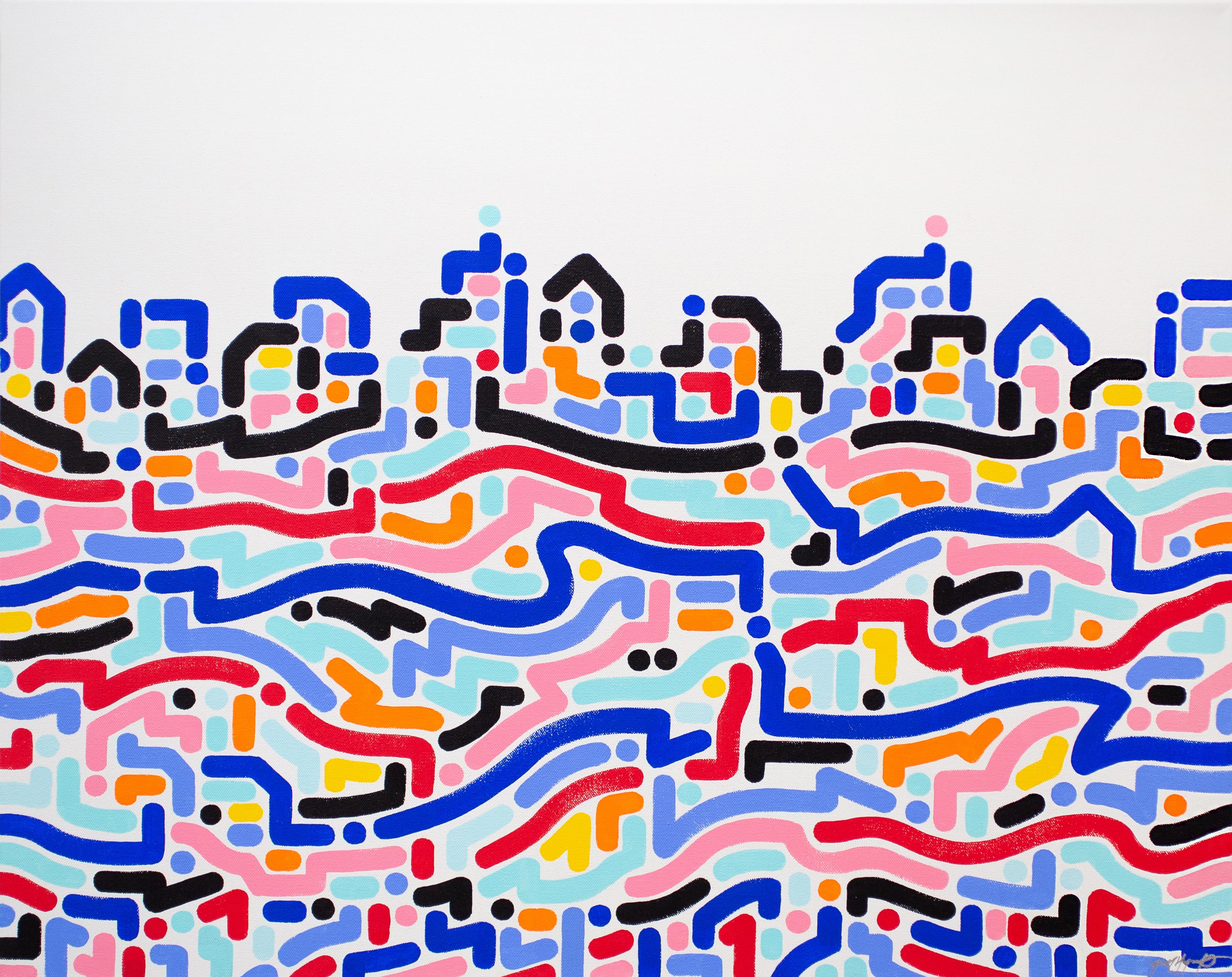 Yoon Hyup, Celestial, 2019, acrylic on canvas, 61×76 cm