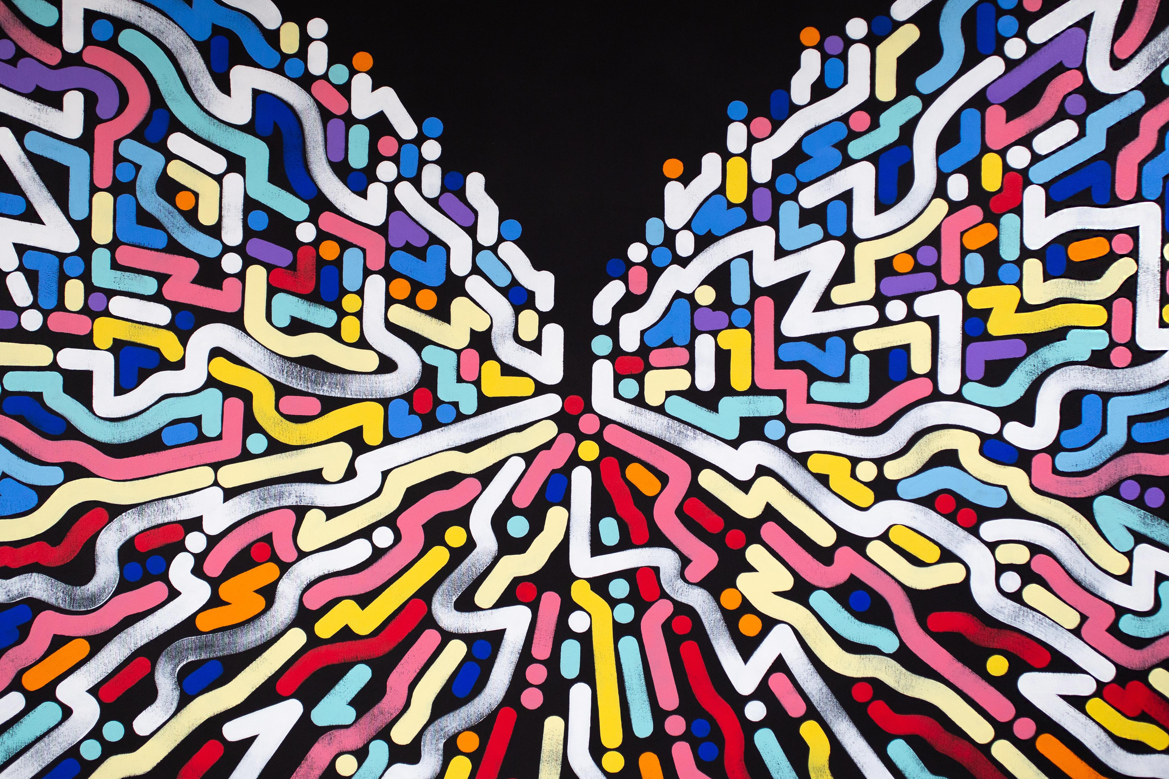 Yoon Hyup, Innervisions, 2019, acrylic on canvas, 152×102 cm