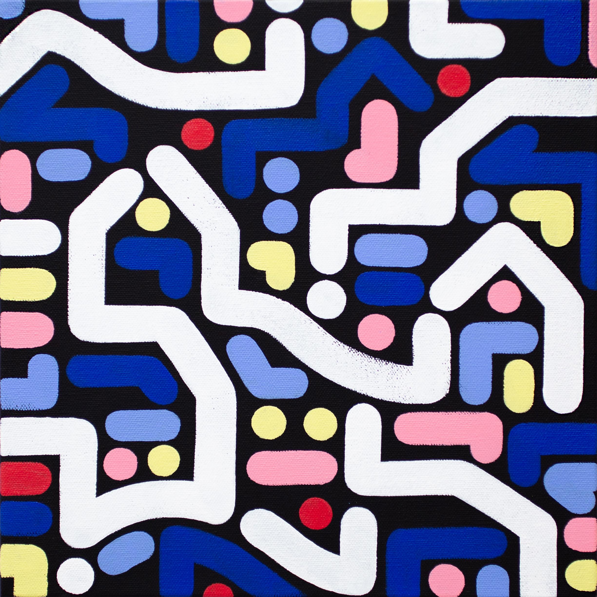 Yoon Hyup, Untitled, 2019, acrylic on canvas, 30×30 cm (2)