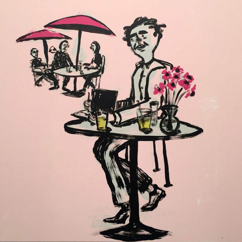 Russ Pope, Friday, 2018, Acrylic On Canvas, Cm 83×83