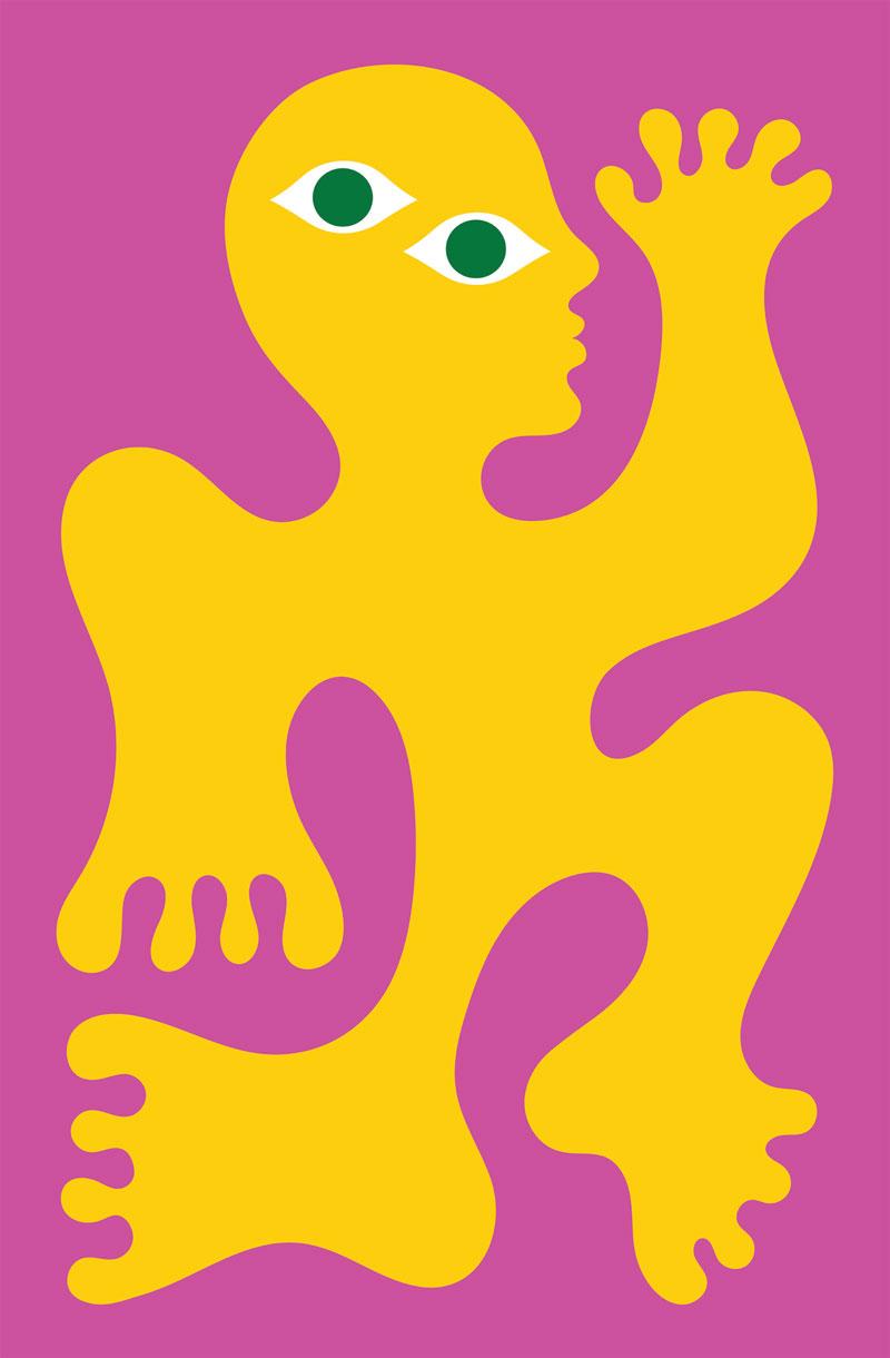 Olimpia Zagnoli, 2021, Indaba, giclée print on cotton paper, 40x60,5 cm