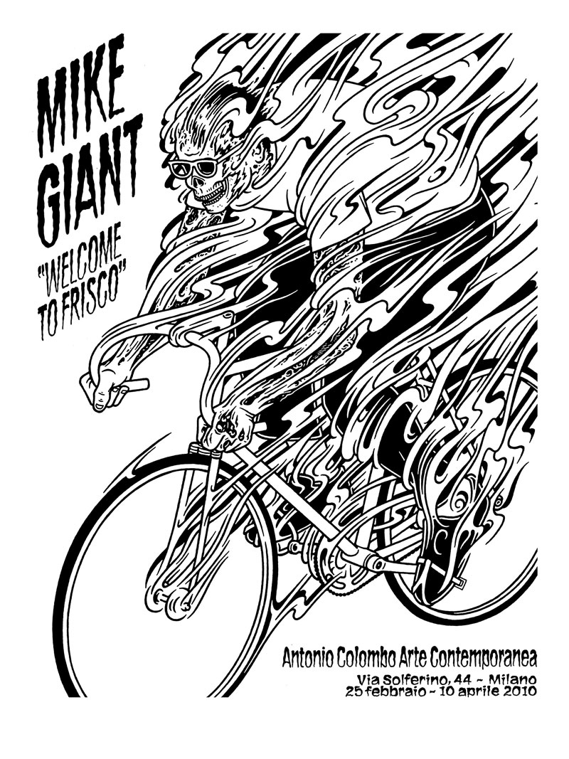 Mike-Giant,-Welcome-to-Frisco,-2010,-stampa,-ed